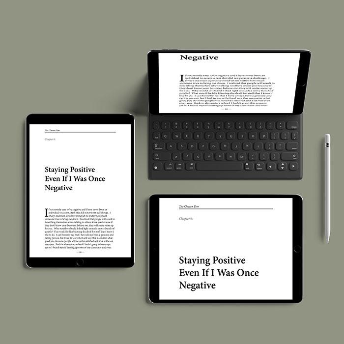 ebook formatting