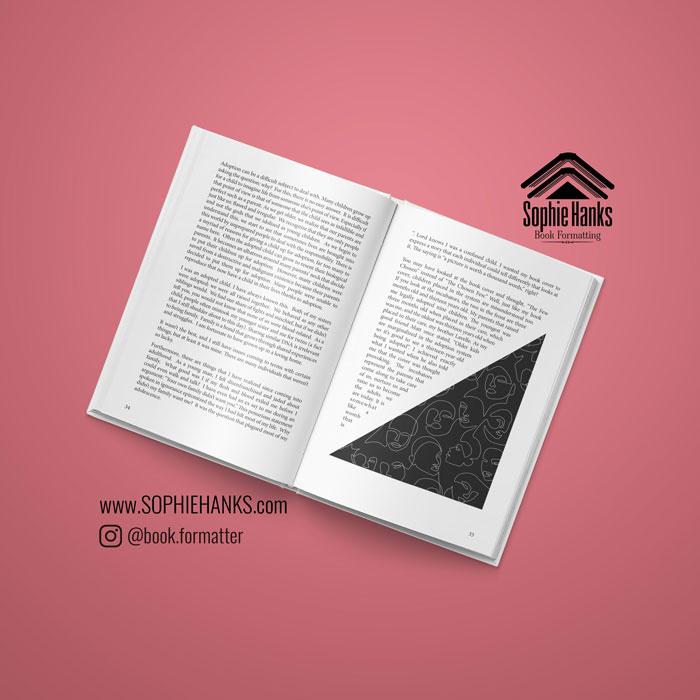 interior book design